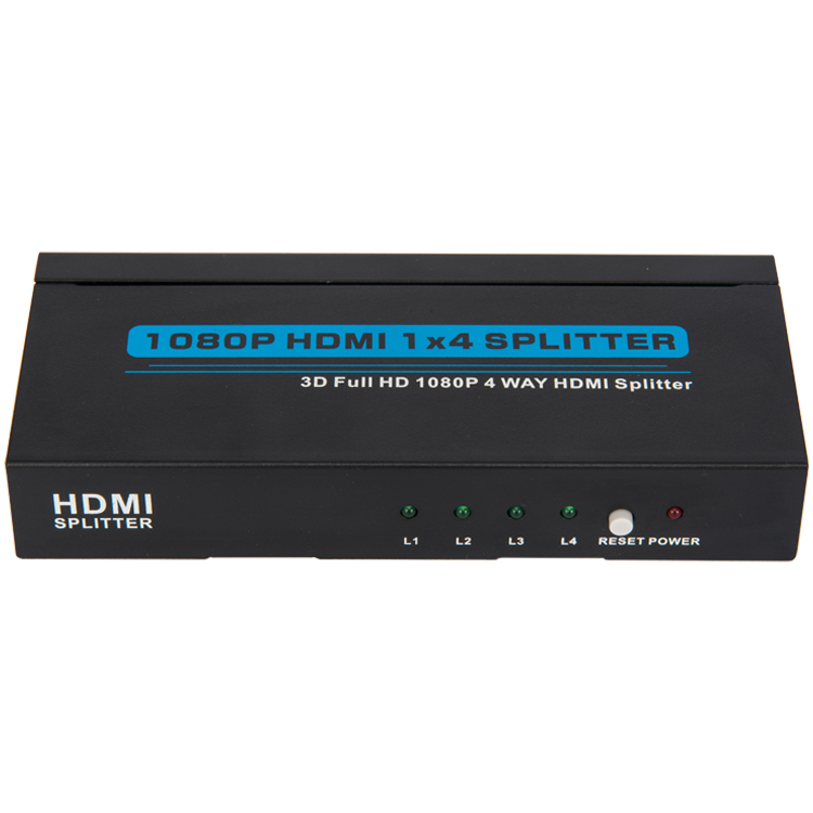 HDMI1.3 1x4 Splitter (3D Full HD 1080P)