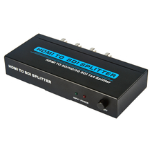 HDMI TO SD/HD/ 3G SDI 1x4 Splitter