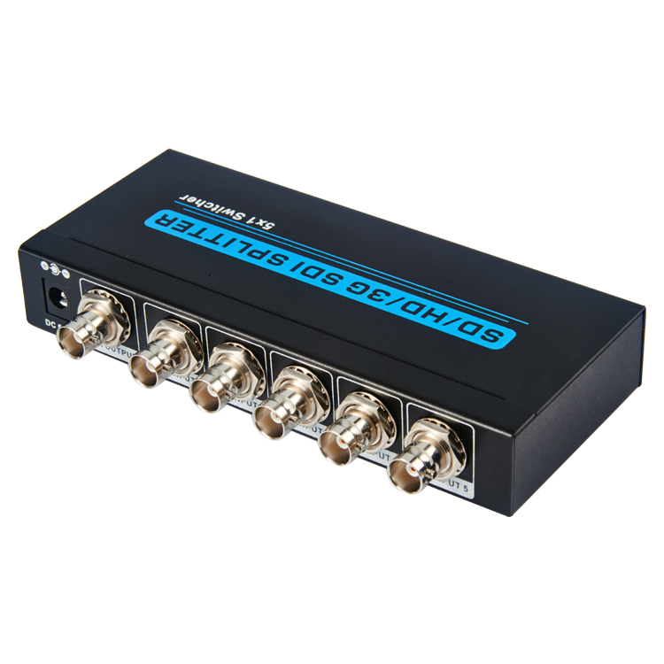 SD/HD/3G SDI 5x1 Switcher