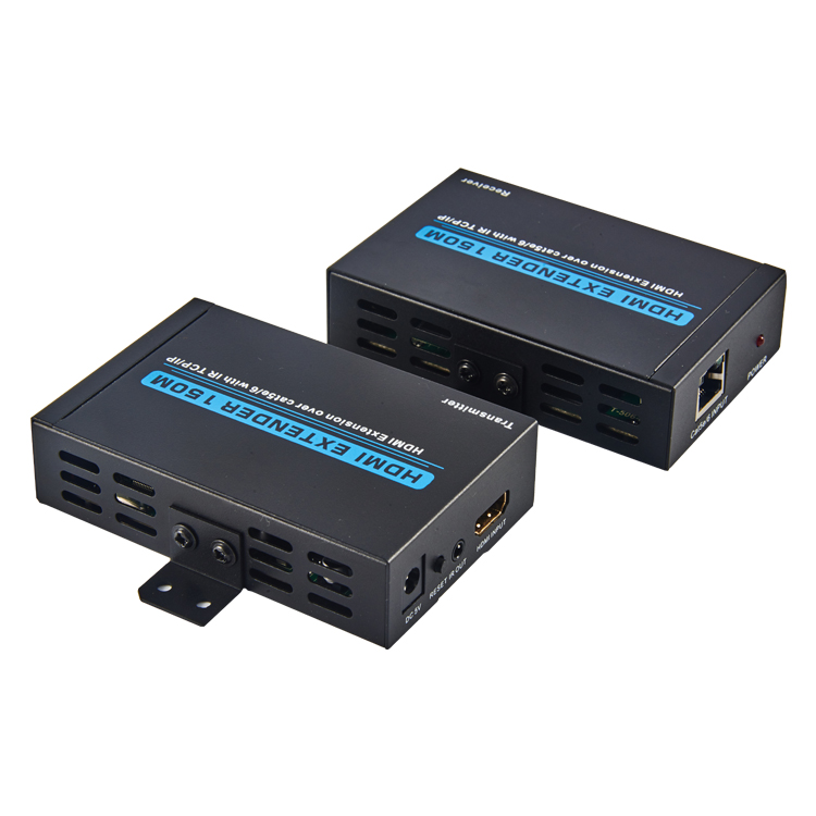 HDMI1.3V 150M Extender Over CAT5e/6 With IR+TCP/IP(3D Full HD 1080P)