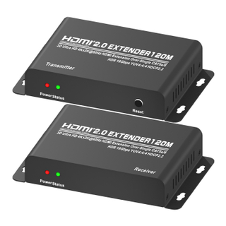 HDMI Extender Over Single CAT5e/6(120M) (Ultra HD 4Kx2K@60Hz HDCP2.2)