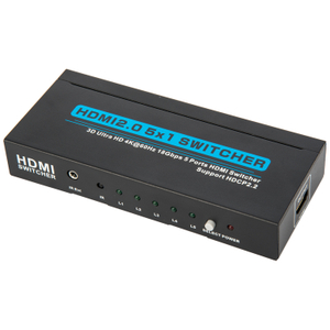 HDMI2.0V 5x1 Switcher(3D Ultra HD 4Kx2K@60Hz)